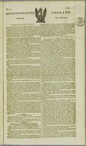 Middelburgsche Courant 1825-01-06