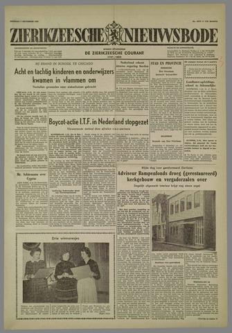 Zierikzeesche Nieuwsbode 1958-12-02
