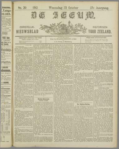 De Zeeuw. Christelijk-historisch nieuwsblad voor Zeeland 1912-10-23