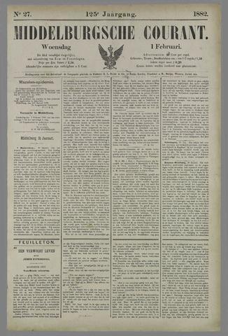 Middelburgsche Courant 1882-02-01