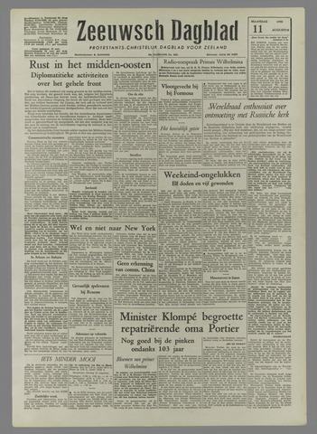 Zeeuwsch Dagblad 1958-08-11