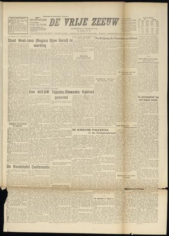 de Vrije Zeeuw 1948-02-26