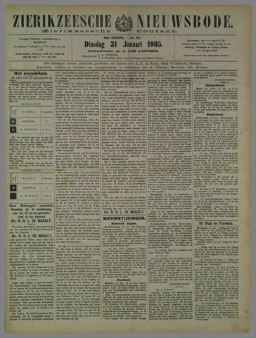 Zierikzeesche Nieuwsbode 1905-01-31