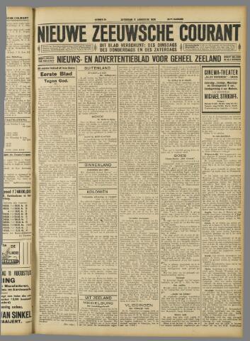 Nieuwe Zeeuwsche Courant 1928-08-11