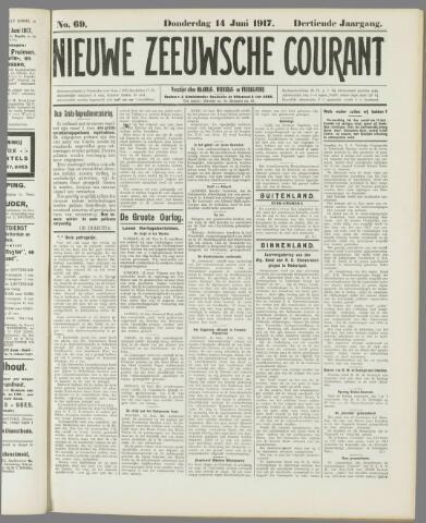 Nieuwe Zeeuwsche Courant 1917-06-14