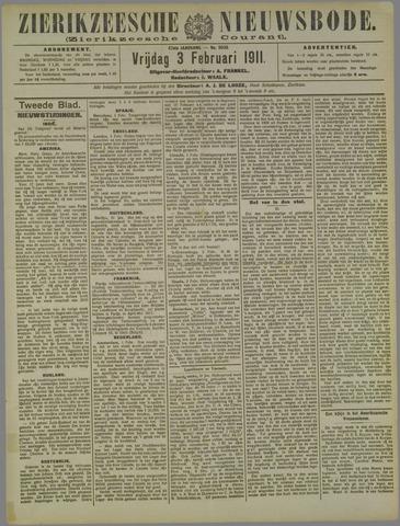Zierikzeesche Nieuwsbode 1911-02-03