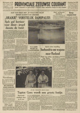 Provinciale Zeeuwse Courant 1962-05-03