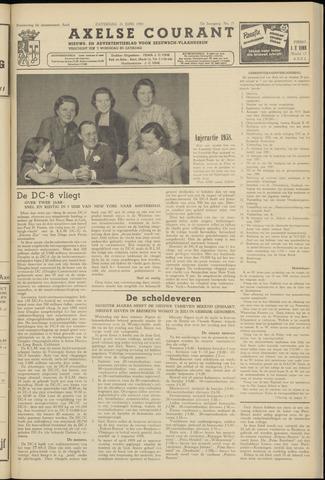 Axelsche Courant 1958-06-21
