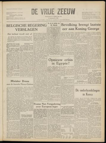 de Vrije Zeeuw 1952-02-13