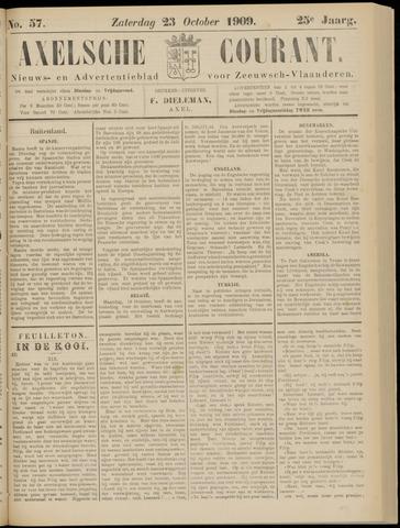 Axelsche Courant 1909-10-23