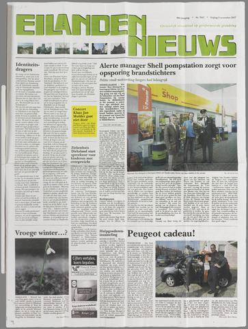 Eilanden-nieuws. Christelijk streekblad op gereformeerde grondslag 2007-11-02
