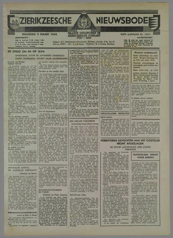 Zierikzeesche Nieuwsbode 1942-03-09