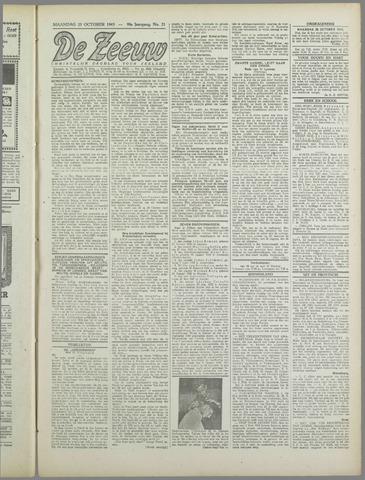 De Zeeuw. Christelijk-historisch nieuwsblad voor Zeeland 1943-10-25