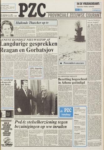 Provinciale Zeeuwse Courant 1985-11-20