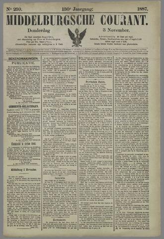 Middelburgsche Courant 1887-11-03