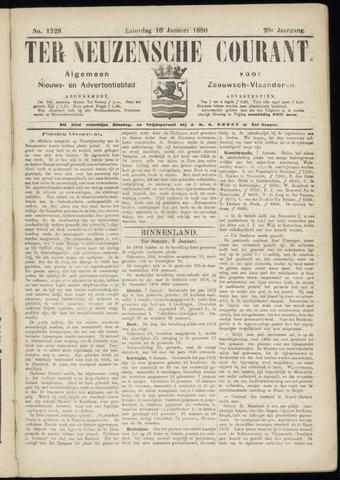 Ter Neuzensche Courant. Algemeen Nieuws- en Advertentieblad voor Zeeuwsch-Vlaanderen / Neuzensche Courant ... (idem) / (Algemeen) nieuws en advertentieblad voor Zeeuwsch-Vlaanderen 1880-01-10