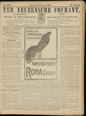 Ter Neuzensche Courant. Algemeen Nieuws- en Advertentieblad voor Zeeuwsch-Vlaanderen / Neuzensche Courant ... (idem) / (Algemeen) nieuws en advertentieblad voor Zeeuwsch-Vlaanderen 1912-11-12
