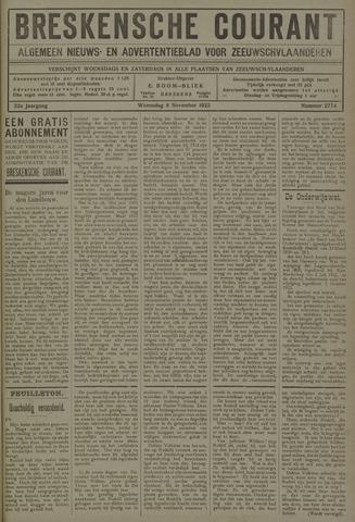 Breskensche Courant 1922-11-08