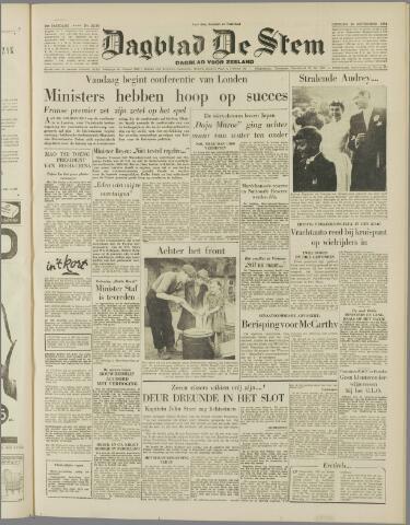 de Stem 1954-09-28