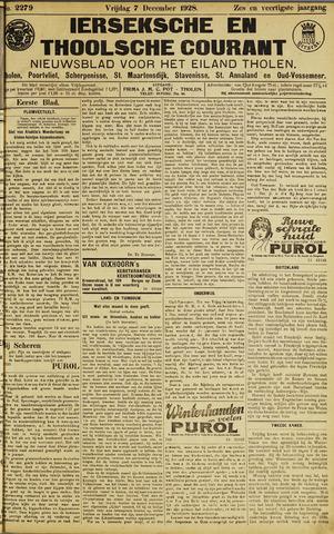 Ierseksche en Thoolsche Courant 1928-12-07