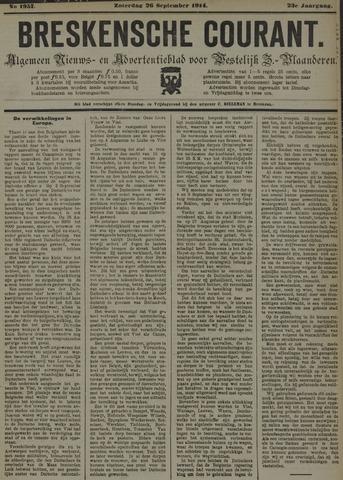 Breskensche Courant 1914-09-26
