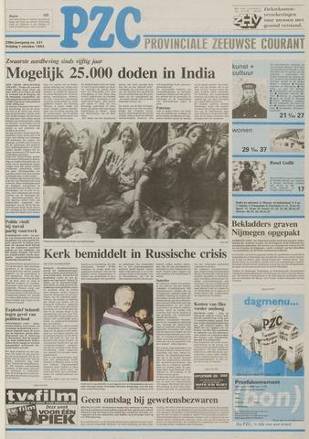 Provinciale Zeeuwse Courant 1993-10-01