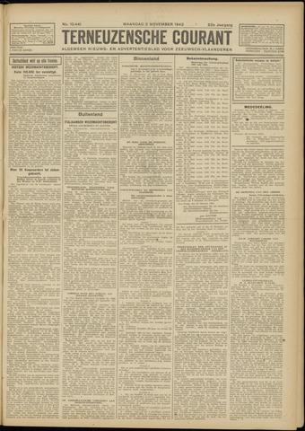 Ter Neuzensche Courant. Algemeen Nieuws- en Advertentieblad voor Zeeuwsch-Vlaanderen / Neuzensche Courant ... (idem) / (Algemeen) nieuws en advertentieblad voor Zeeuwsch-Vlaanderen 1942-11-02