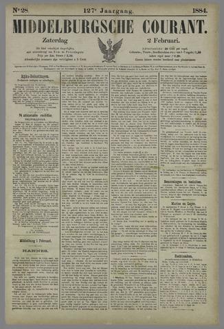 Middelburgsche Courant 1884-02-02