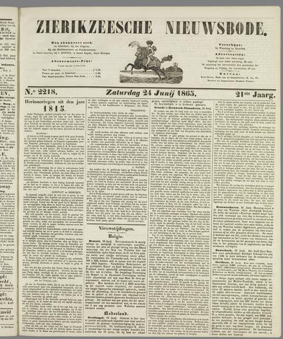 Zierikzeesche Nieuwsbode 1865-06-24