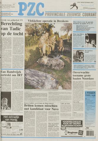Provinciale Zeeuwse Courant 1995-10-25