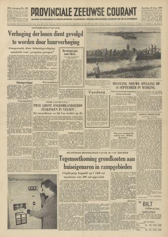 Provinciale Zeeuwse Courant 1954-08-28