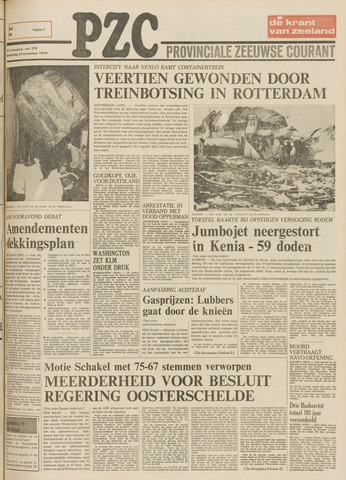 Provinciale Zeeuwse Courant 1974-11-21