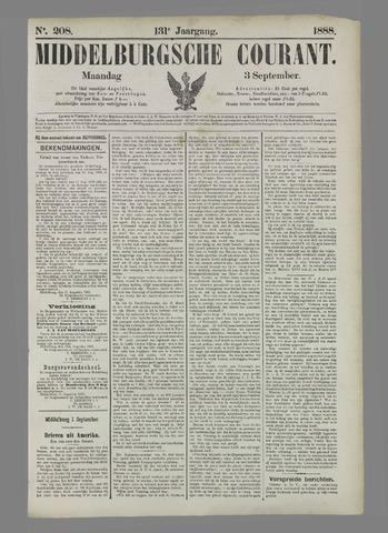 Middelburgsche Courant 1888-09-03