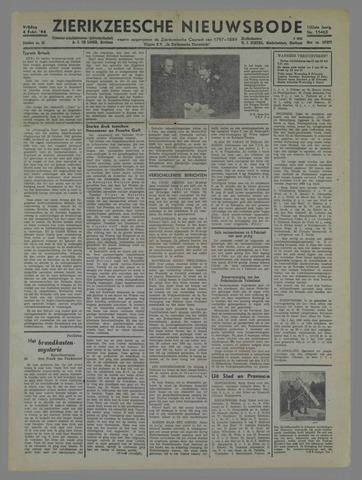 Zierikzeesche Nieuwsbode 1944-02-04