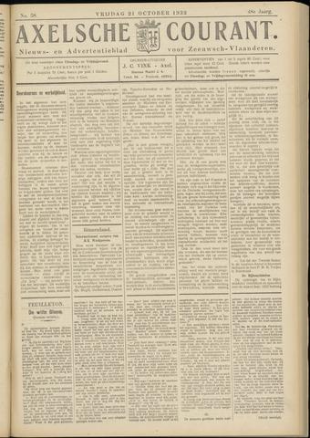 Axelsche Courant 1932-10-21