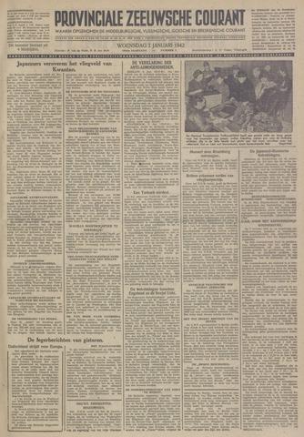 Provinciale Zeeuwse Courant 1942-01-07