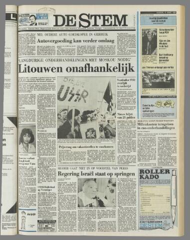 de Stem 1990-03-12