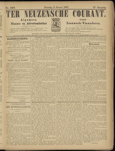 Ter Neuzensche Courant. Algemeen Nieuws- en Advertentieblad voor Zeeuwsch-Vlaanderen / Neuzensche Courant ... (idem) / (Algemeen) nieuws en advertentieblad voor Zeeuwsch-Vlaanderen 1897-01-09