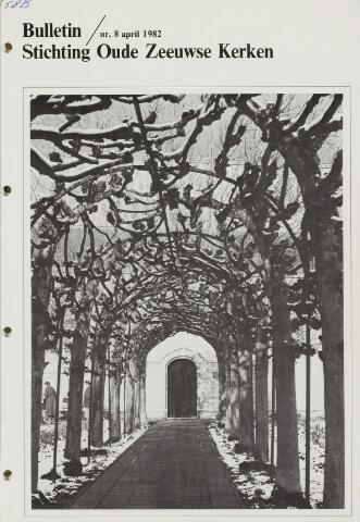 Bulletin Stichting Oude Zeeuwse kerken 1982-04-01