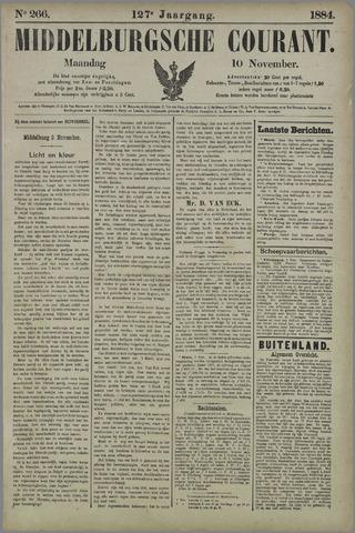 Middelburgsche Courant 1884-11-10