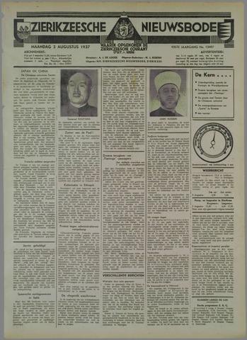 Zierikzeesche Nieuwsbode 1937-08-02