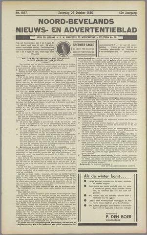 Noord-Bevelands Nieuws- en advertentieblad 1935-10-26