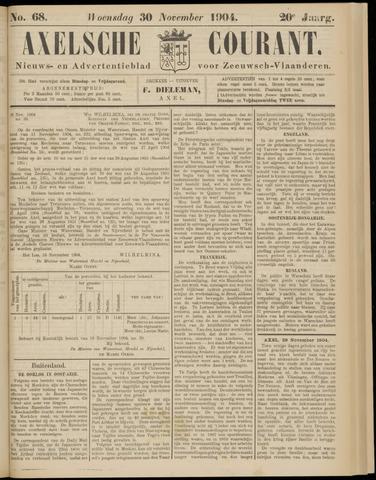 Axelsche Courant 1904-11-30