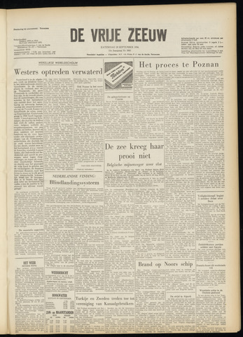 de Vrije Zeeuw 1956-09-29