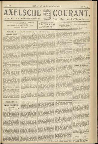 Axelsche Courant 1927-01-11
