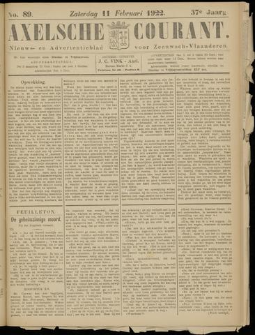Axelsche Courant 1922-02-11