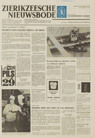 Zierikzeesche Nieuwsbode 1973-01-25