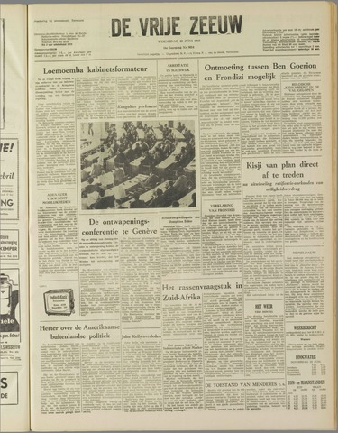 de Vrije Zeeuw 1960-06-22