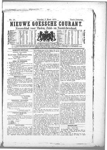 Nieuwe Goessche Courant 1875-03-02