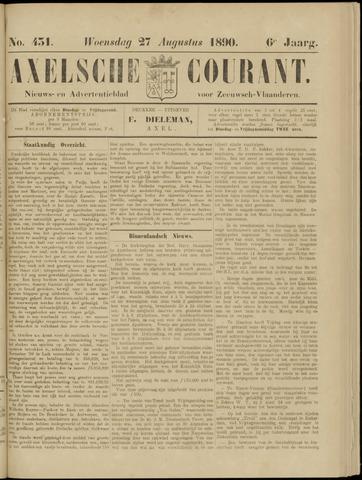 Axelsche Courant 1890-08-27
